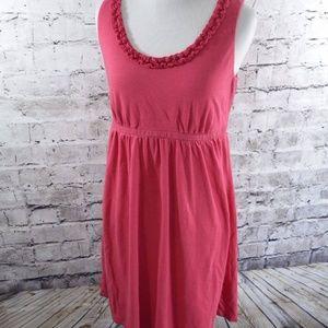 Ann Taylor Loft Petites ruffle summer dress